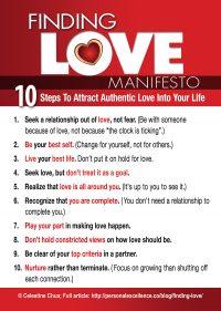 Finding Love Manifesto