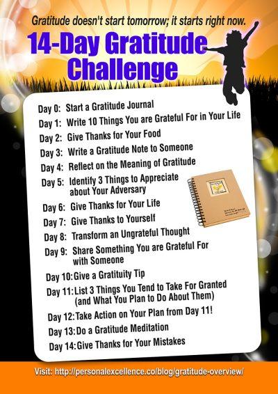 14-Day Gratitude Challenge