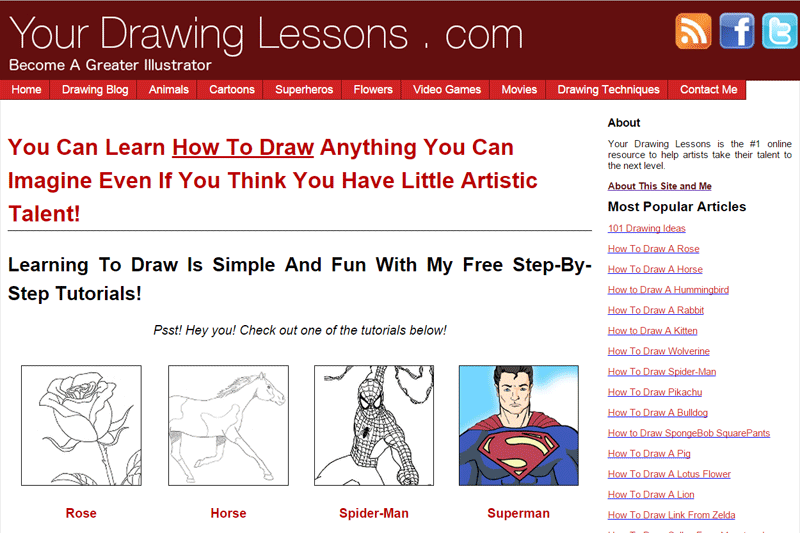 Matt Leyva's Blog: YourDrawingLessons.com