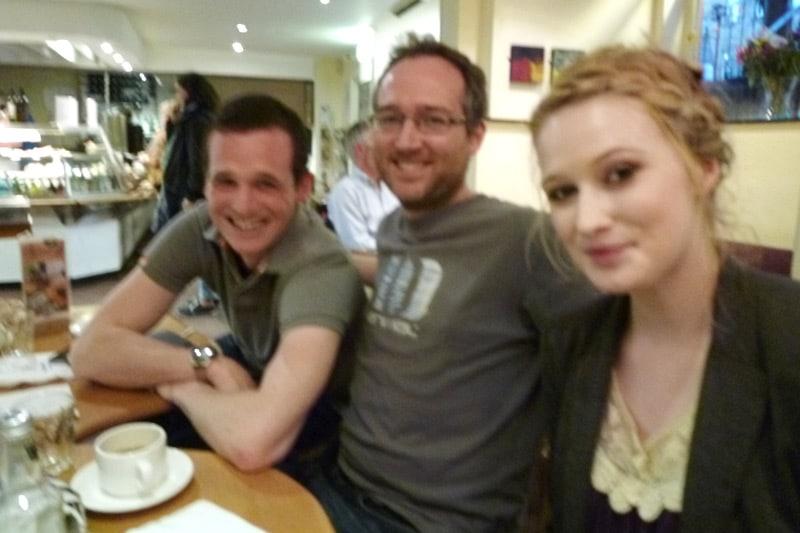 Scott, Milo, and Alice