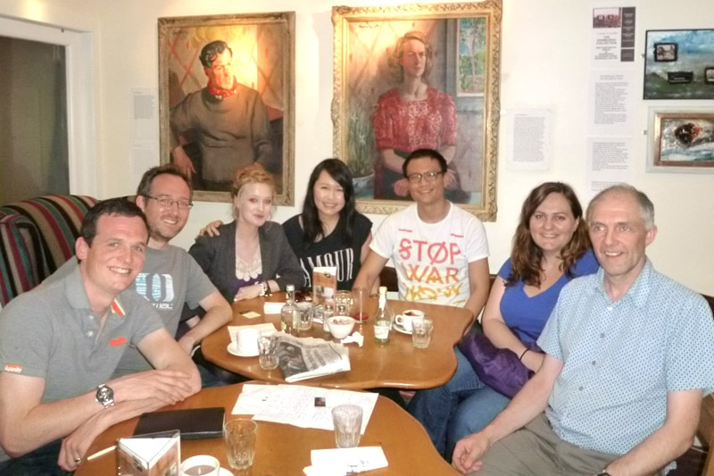 Edinburgh PE Readers Meetup - Group Shot