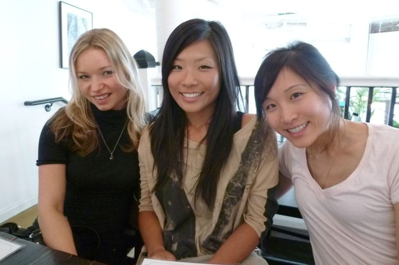 Katya, Amy and Cynthia