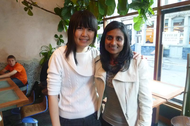 London Meet-up 2011: Celes and Deepa