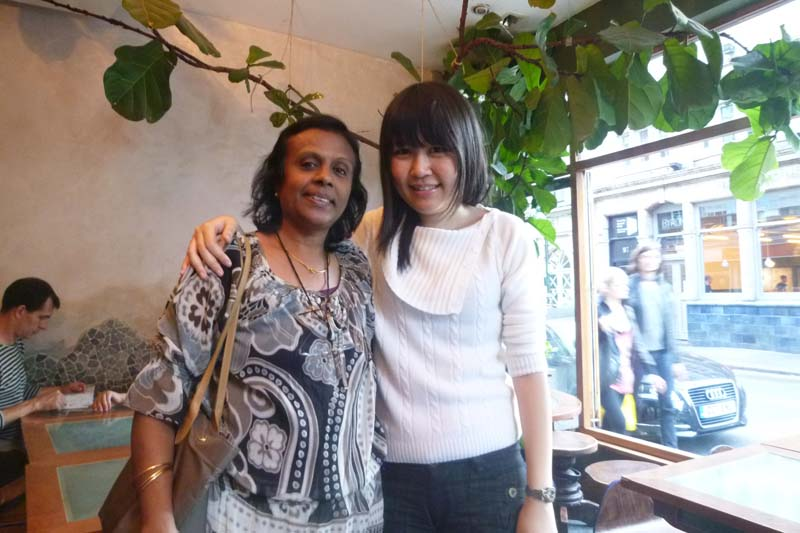 London Meet-up 2011: Celes and Girija