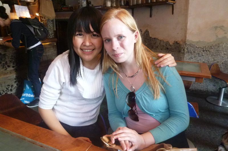 London Meet-up 2011: Celes and Hanna