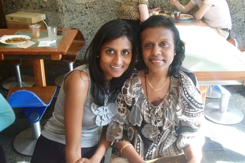 London Meet-up 2011: Deepa and Girija