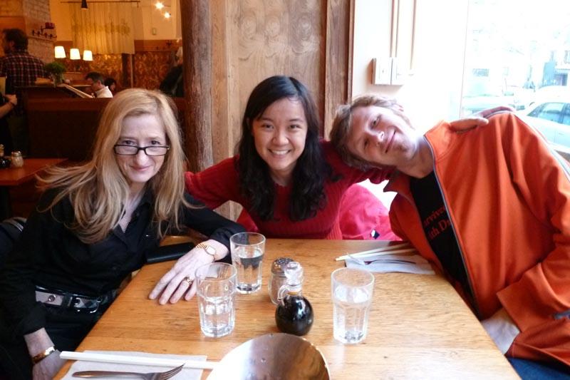 NYC Meet-up Lena, Jodi and Dan