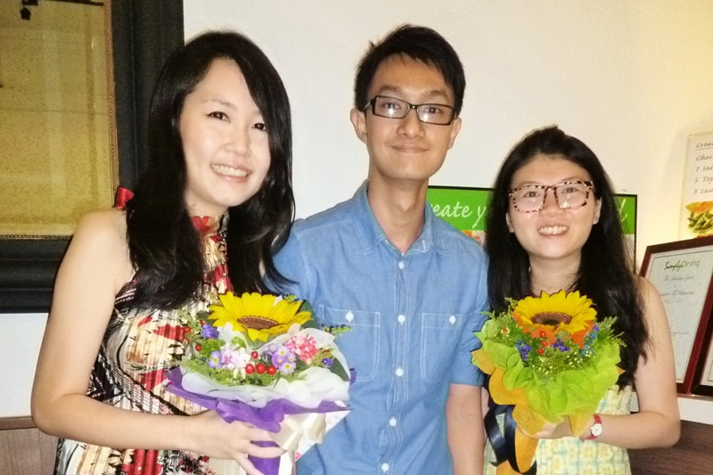 SG PE Readers Meetup (Jul 27, 2014): Celes, Sam, and Wanxuan