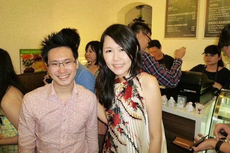 SG PE Readers Meetup (Jul 27, 2014): Drew and Celes