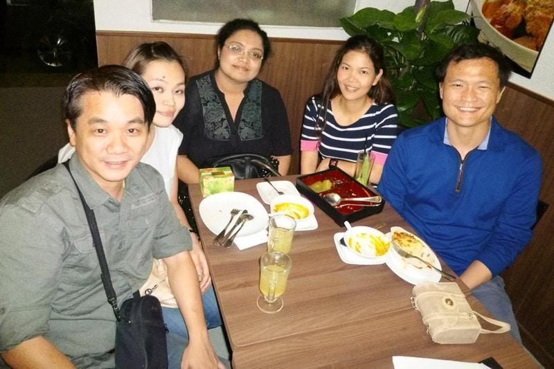 SG PE Readers Meetup (Jul 27, 2014): Tony, Corrine, Reeta, Kay, and Ken