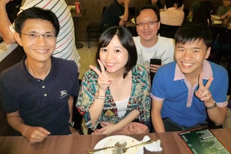 SG PE Readers Meetup (Jul 27, 2014): Whye Wong, Chloe, Alvin, and Wen