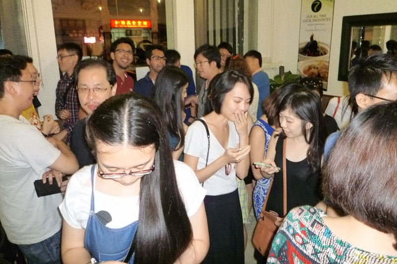 SG PE Readers Meetup (Jul 27, 2014): More mingling