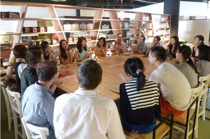 SG PE Readers Meetup: Singing birthday song