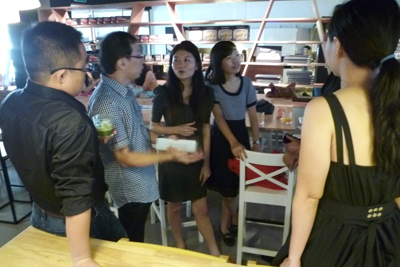 SG PE Readers Meetup: Participants mingling