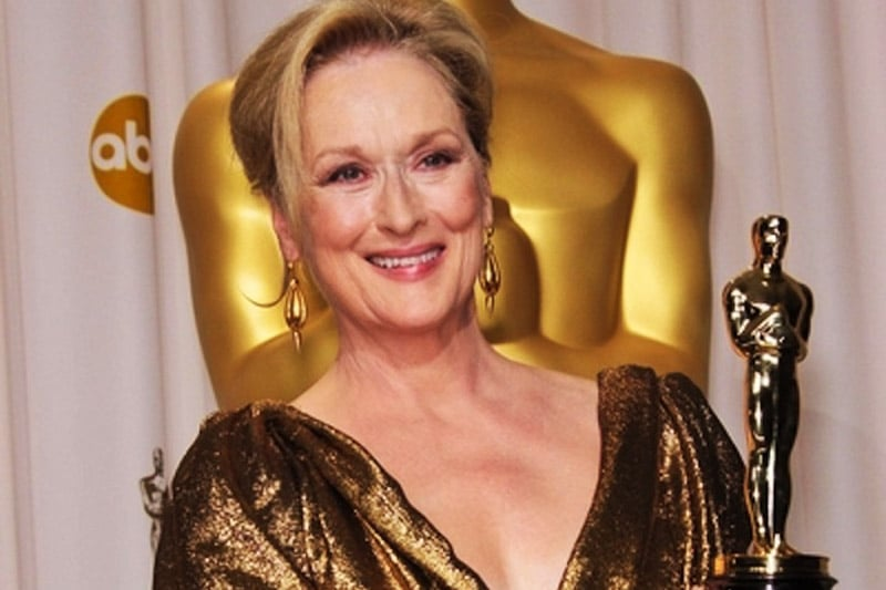 Meryl Streep, who experiences the impostor syndrome too