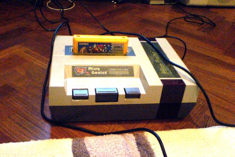 Micro Genius, an 8-bit console