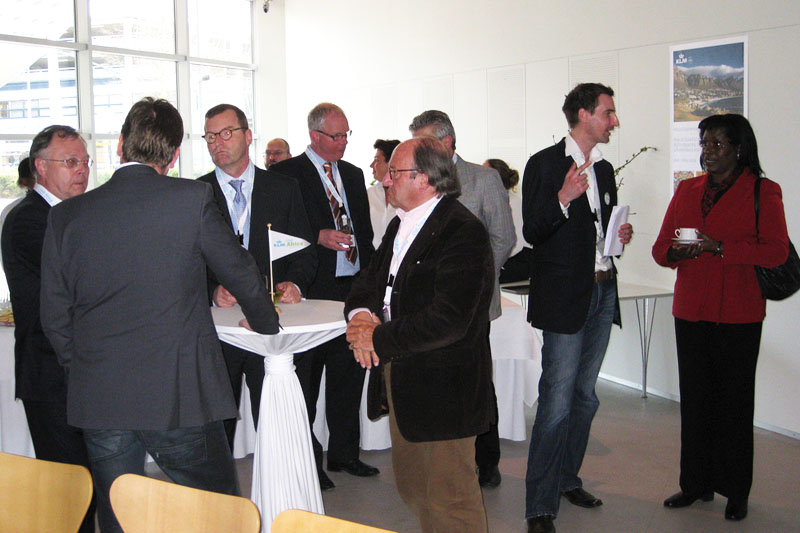 Example of a networking event