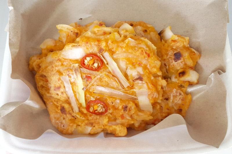 Ubud: Nine Heaven Vegan Warung, Kimchi Pancake