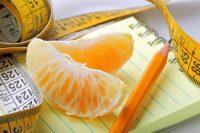 Orange, notebook
