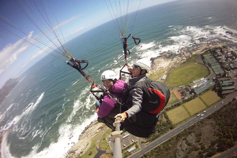 Celes Paragliding in Cape Town, off Lion's Head