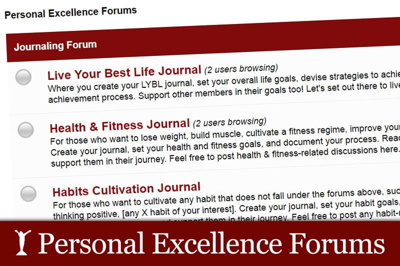 Personal Excellence Forums