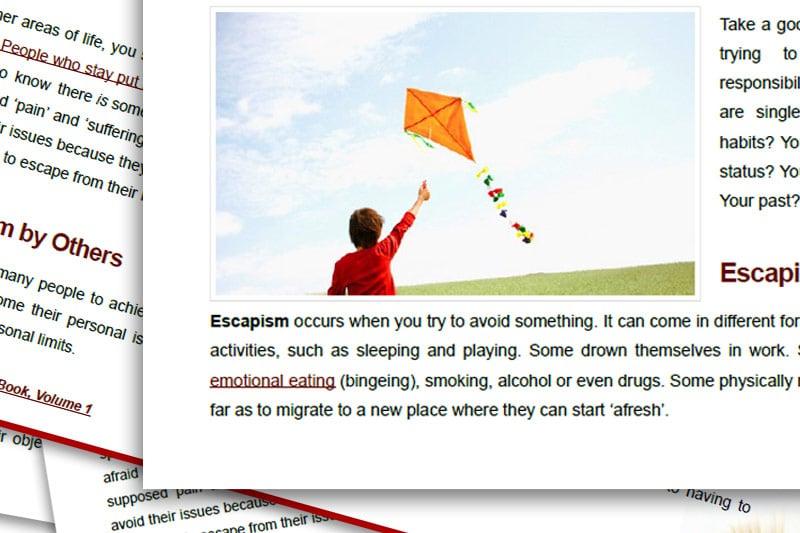 PEBook: Escapism