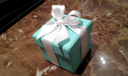 Proposal Ring Box - from Tiffany & Co.