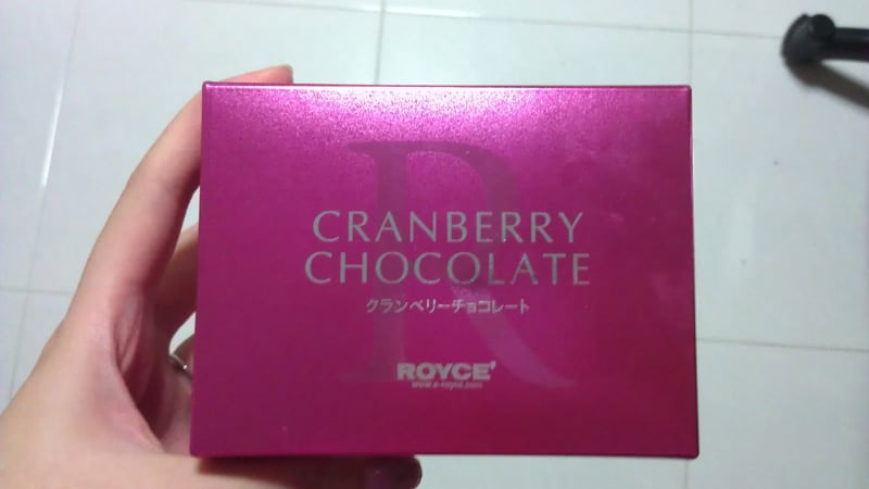 Royce Cranberry Chocolates