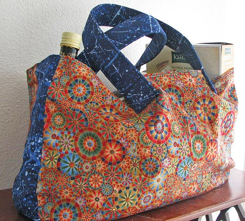Example of a recyclable bag