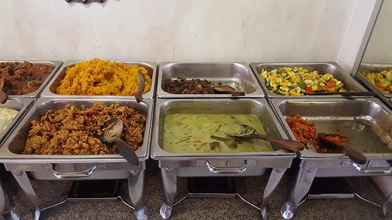 Ubud: Sawobali Vegan Buffet, Buffet Spread #2