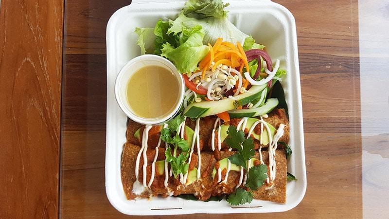 Ubud: Sayuri Healing Food, Enchilada (Thursdays only)