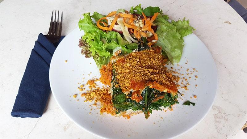 Ubud: Sayuri Healing Food, Lasagna Italian