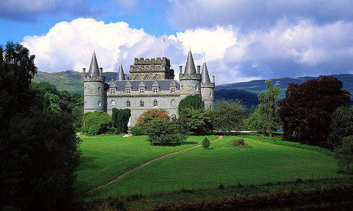 Scotland, Inverary Castle