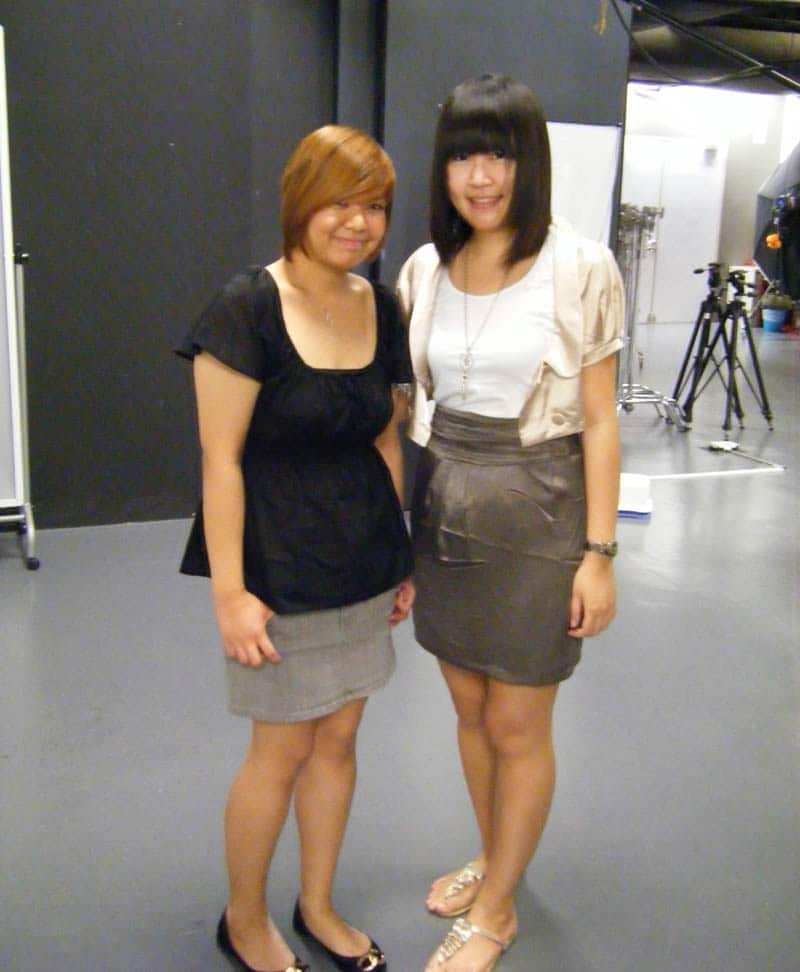 Simply Her Photoshoot (July 2010): Celes and Jacqueline