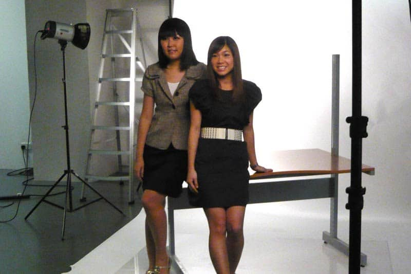 Simply Her Photoshoot (July 2010): Celes and Lorraine