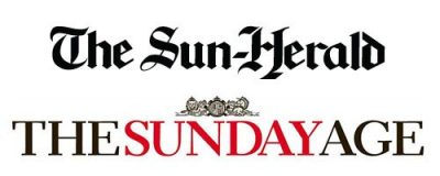 Featured in Sun Herald and The Sunday Age