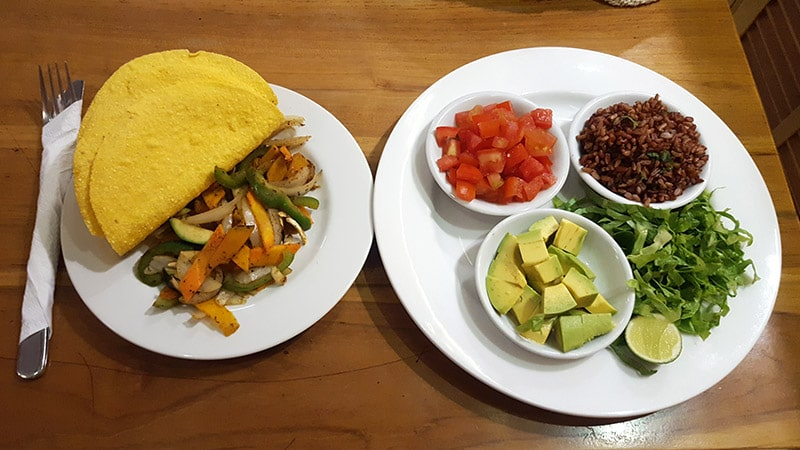 Ubud: Taco Casa, Make-Your-Own Taco, Vegan