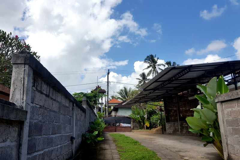 Ubud village: View of the sky
