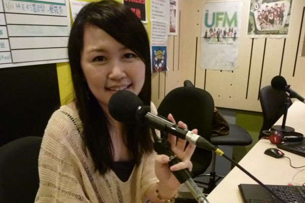 Interview in UFM100.3 Studio