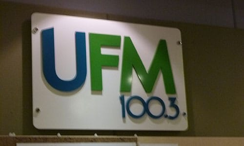 UFM100.3 Live Interview