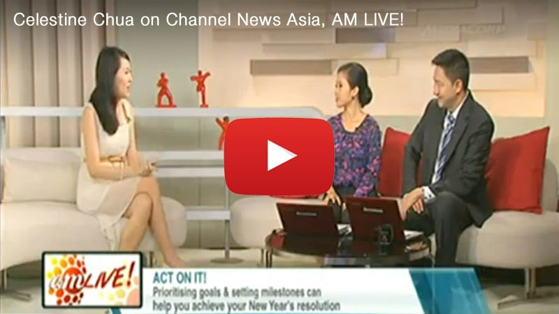 YouTube Video Preview: Celestine Chua on Channel News Asia, AM LIVE!