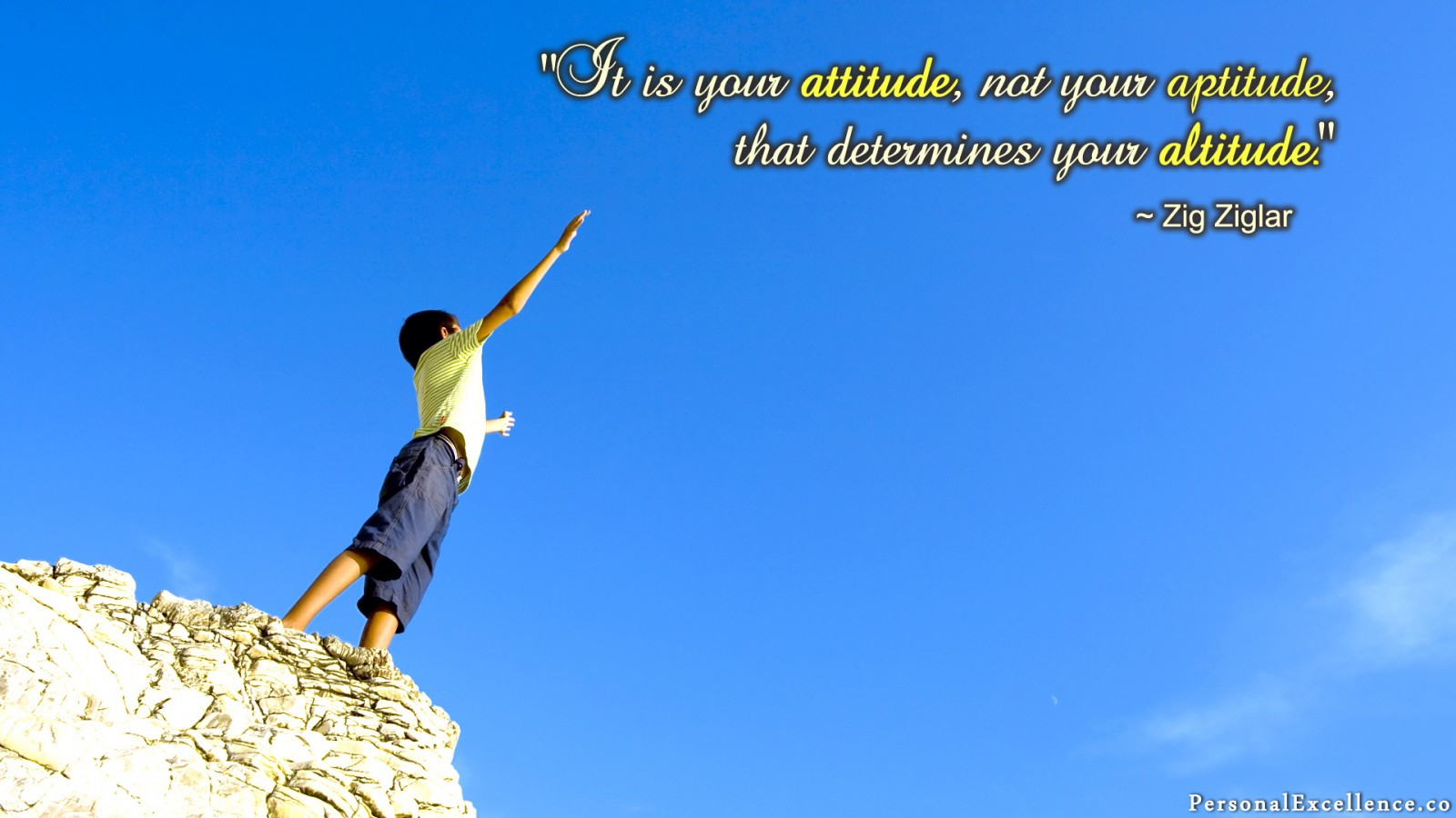 1 Attitude Not Altitude Wallpaper