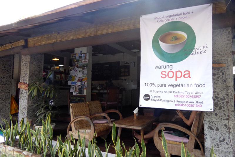 Ubud: Warung Sopa