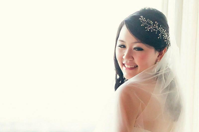 Celestine chua wedding