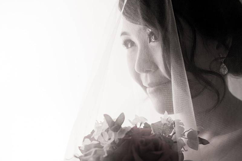 Celes in bridal veil